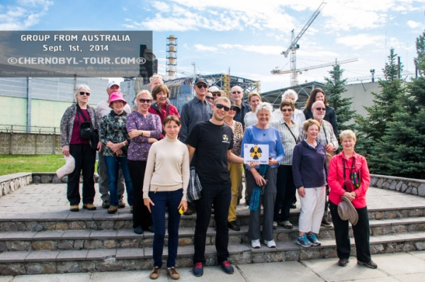 Group from Australia and New Zealand 1 Sept. 2014